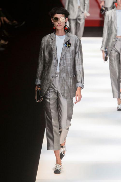 Colecția lui Giorgio Armani prezentată la Paris Fashion Week 2018 29