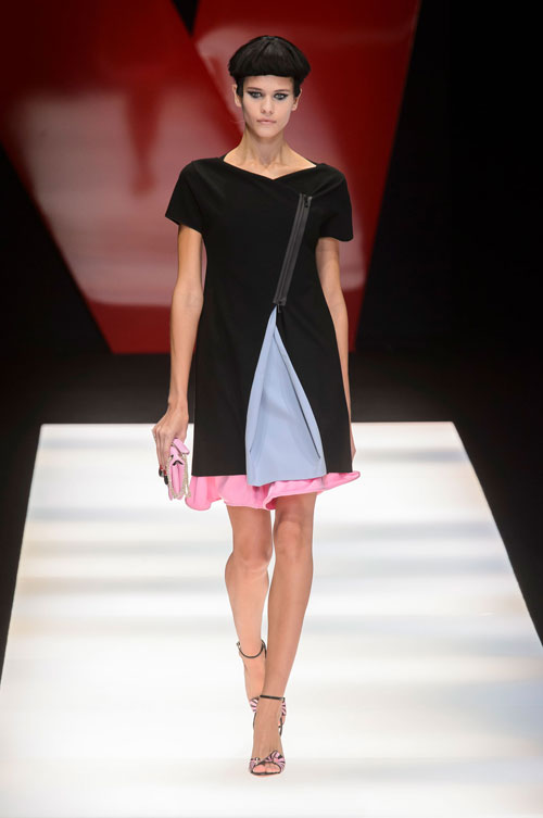 Colecția lui Giorgio Armani prezentată la Paris Fashion Week 2018 33