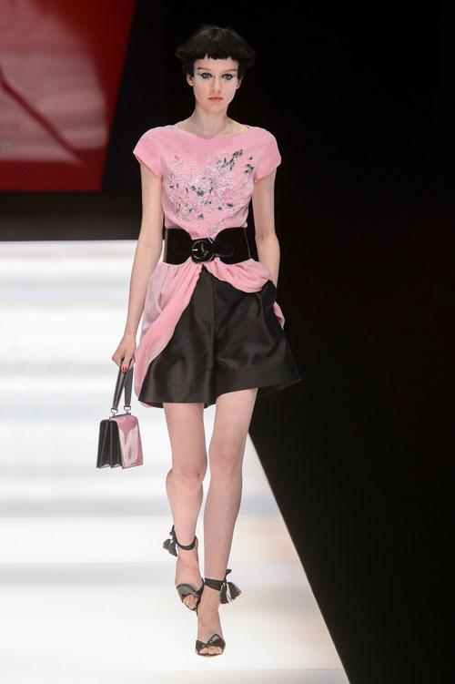 Colecția lui Giorgio Armani prezentată la Paris Fashion Week 2018 34
