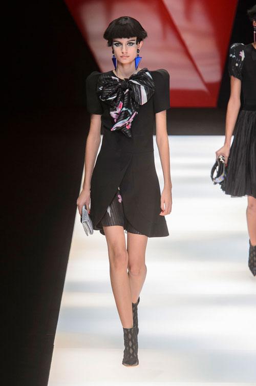 Colecția lui Giorgio Armani prezentată la Paris Fashion Week 2018 37