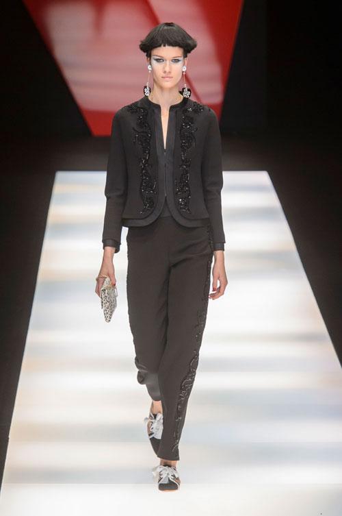 Colecția lui Giorgio Armani prezentată la Paris Fashion Week 2018 45