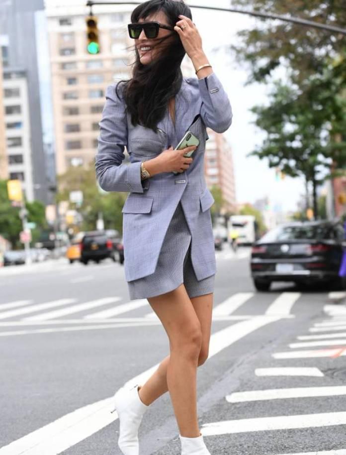 Săptămâna Modei la New York 2018-stilul pe stradă în Manhatan 16