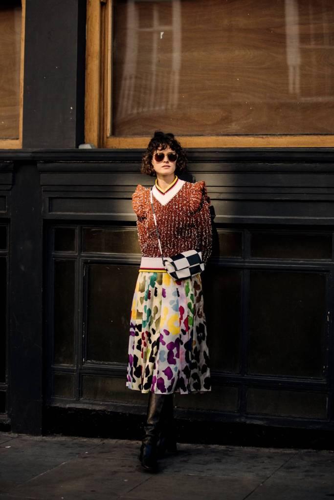 Săptămâna Modei la Londra -Stilul stradal septembrie 2018 34