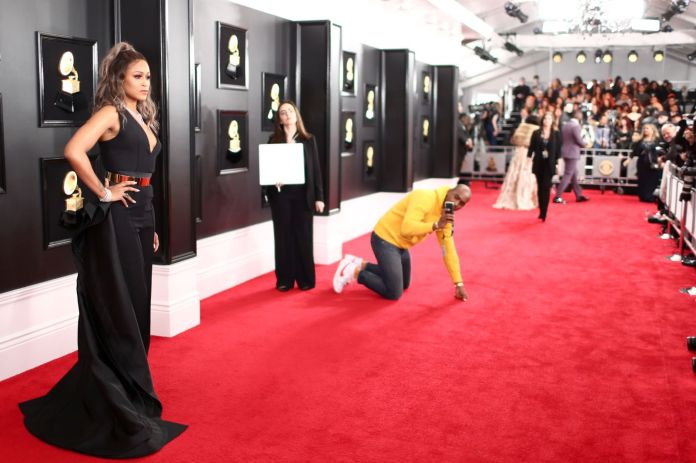 Premiile Grammy 2019:covorul roșu (Galerie Foto) 14