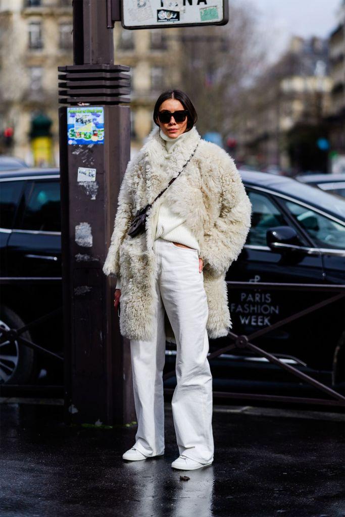 Stilul pe stradă Paris Fashion Week.(Galerie Foto) 12