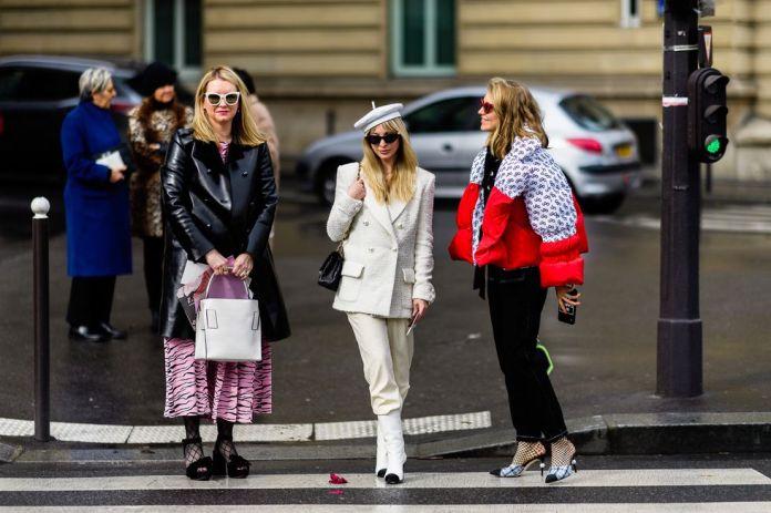 Stilul pe stradă Paris Fashion Week.(Galerie Foto) 13