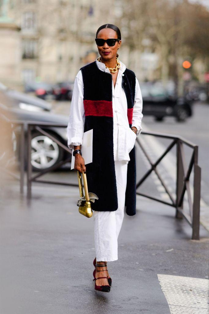 Stilul pe stradă Paris Fashion Week.(Galerie Foto) 18