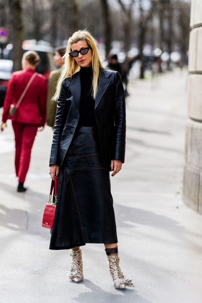 Stilul pe stradă Paris Fashion Week.(Galerie Foto) 22