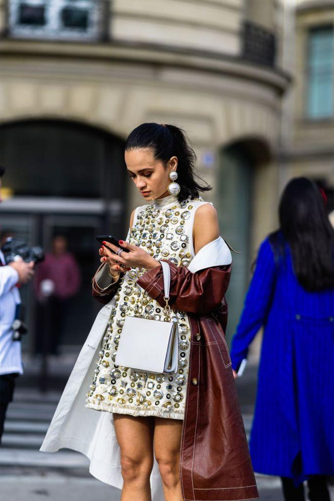 Stilul pe stradă Paris Fashion Week.(Galerie Foto) 23