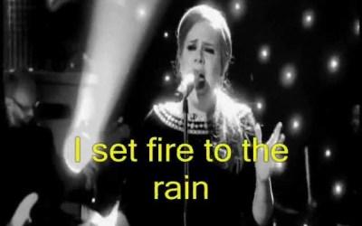 Adele:Set Fire To The Rain (Video) 4