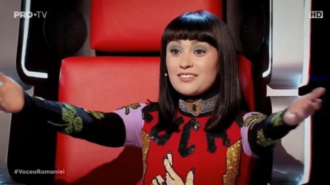 Lia Burg la Vocea României 2019/ Audiții cu piesa Cosmic Love