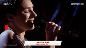 Elena Ilie la Vocea României 2019/Audiții