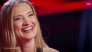 Iulia Glăvan la Vocea României 2019/Audiții