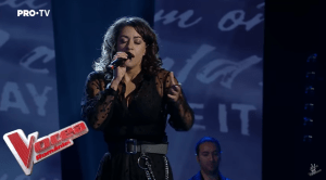 Renee Santana în Galele Live la Vocea României 2019
