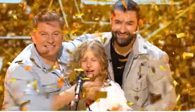 "Daria Călugăru-Moment senzațional la ""Românii au talent 2020""-Golden Buzz 3"