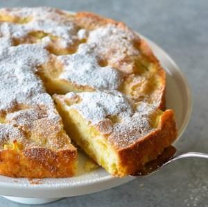 Prăjitură franțuzească (tartă) cu mere