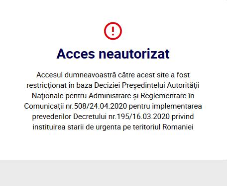 """Un site din România închis de guvern pentru fake news:""""Se pregătește omorârea pensionarilor în lagăre"""" 3"""