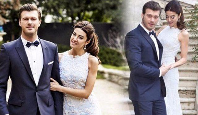 Kıvanç Tatlıtuğ și soția