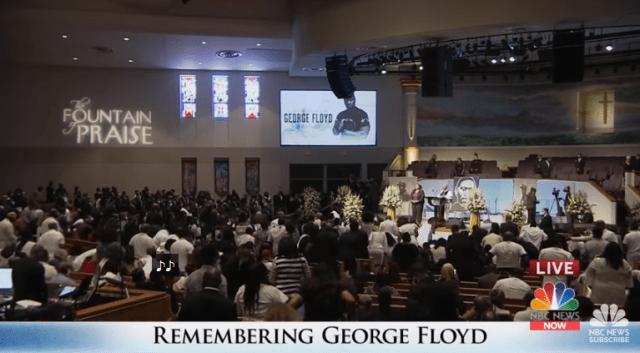 Funeraliile lui George Floyd au avut loc ieri. El a fost înmormântat în Houston, orașul său natal 4