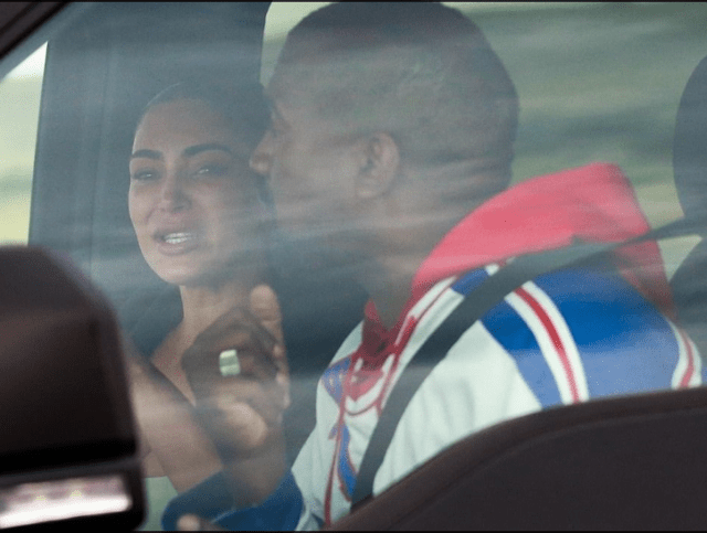 Kanye west and kim