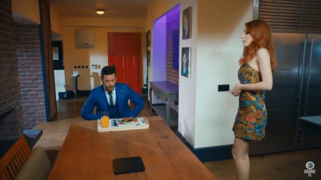 Kiralık Așk- Comedie romantică cu  Barıș Arduç și Elçin Sangu-fragment din episodul 1 5