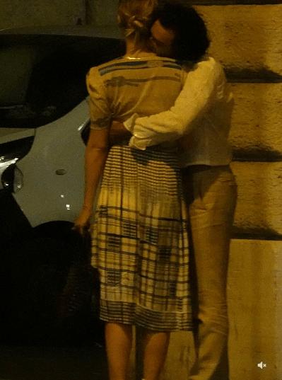 Poldark star Aidan Turner and actress girlfriend Caitlin FitzGerald enjoy a romantic dinner in Rome 5