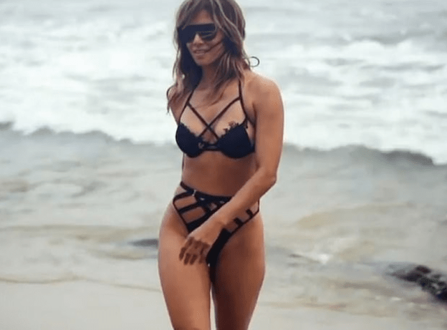 Halle Berry, 54, looked incredible in a racy two-piece on the beach during her birthday getaway 5