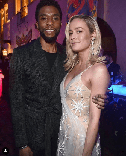 Chadwick Boseman teared up discussing meaning of 'Black Panther' to boys with cancer 4