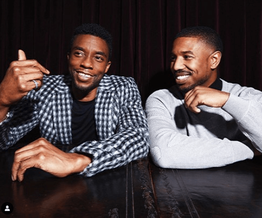Chadwick Boseman teared up discussing meaning of 'Black Panther' to boys with cancer 10