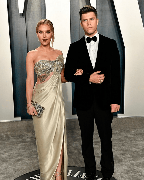 Scarlett Johansson, 35, takes daughter Rose Dorothy to grocery shopping 4