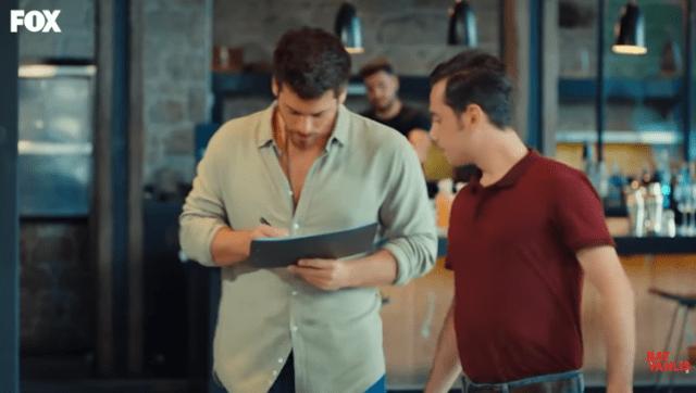 Episodul 13 din Bay Yanliș (Domnul Greșit) cu Can Yaman și Ozge Gurel. Secvențe Video 27