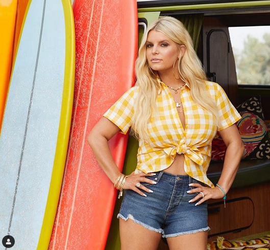 Jessica Simpson, 40, poses with daughters Birdie and Maxwell in new fashion campaign 12