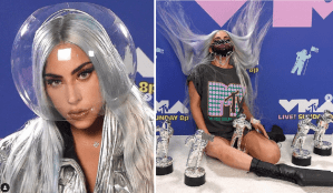 "The secret symbolism behind Lady Gaga's VMAs 2020 hair color:The philosophy behind the superstar's new album ""Chromatica"