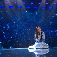 """Andrada Maria Ghiduruș, 15 ani, prestație emoționantă pe scena X Factor cu piesa """"Dreamed A Dream"""""""
