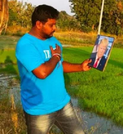 """Bussa Krishna, 35 de ani, fanul președintelui SUA,  a murit """"din cauza îngrijorării pentru Donald Trump"""" care s-a îmbolnăvit de COVID 3"""