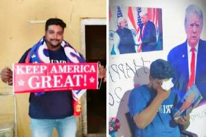 """Bussa Krishna, 35 de ani, fanul președintelui SUA,  a murit """"din cauza îngrijorării pentru Donald Trump"""" care s-a îmbolnăvit de COVID"""