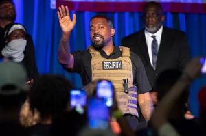 """Kanye West, 43, drops new track """"Nah Nah Nah"""""""