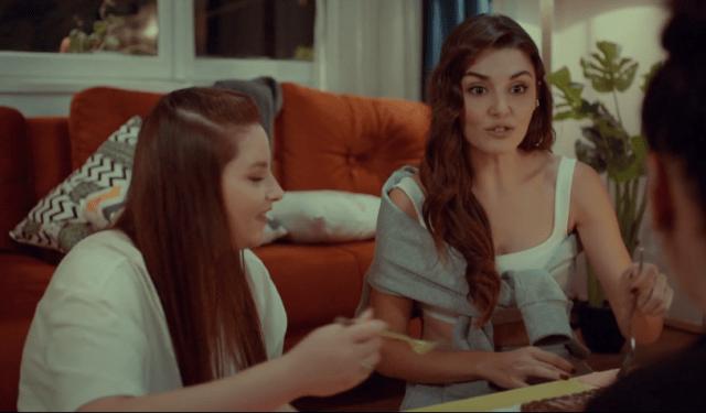 Episodul 13 Sen Çal Kapımı (Bate la ușa mea) cu Hande Erçel Și Kerem Bürsin.Secvențe Video 6