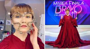 """Cântăreața Alexandra Ungureanu, 38 ani, câștigătoarea concursului """"Bravo, Ai stil! Celebrities"""""""