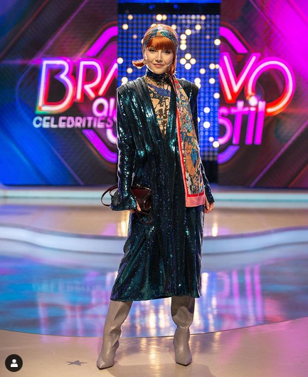 """Cântăreața Alexandra Ungureanu, 38 ani, câștigătoarea concursului """"Bravo, Ai stil! Celebrities"""" 7"""