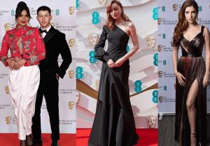 BAFTA 2021 Film Awards: Stars were seen arriving at London's Royal Albert Hall