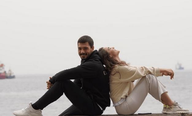 Deniz Can Aktaș și Hafsanur Sancaktutan