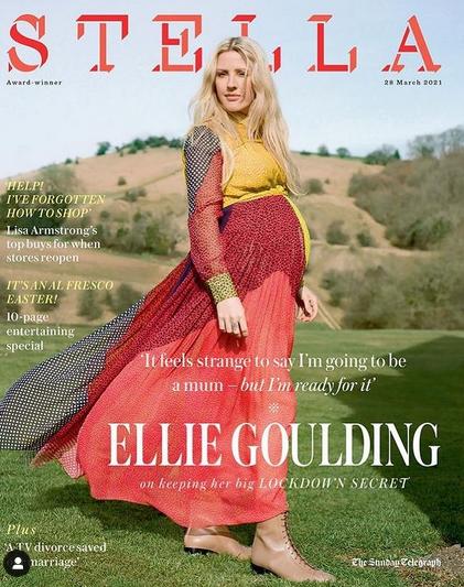 Ellie Goulding reveals her newborn son is named Arthur Ever Winter Jopling 4
