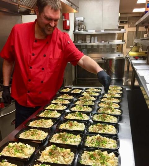 Chef Jason Wyrick dieta vegană