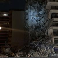O clădire cu mai multe etaje s-a prăbușit la Miami producând victime