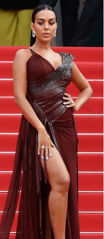 Georgina Rodriguez, Festivalul de Film de la Cannes 2021