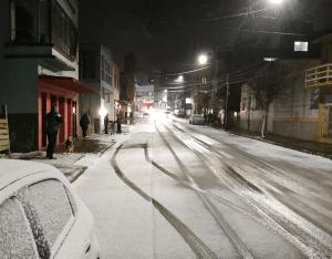 Zăpadă pe străzi în Brazilia, fenomen meteorologic rar (VIDEO)