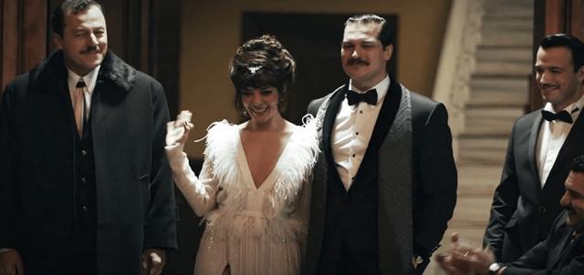Yetkin Dikinciler, Selin Sekerci și Çagatay Ulusoy în Yesilçam (2021)
