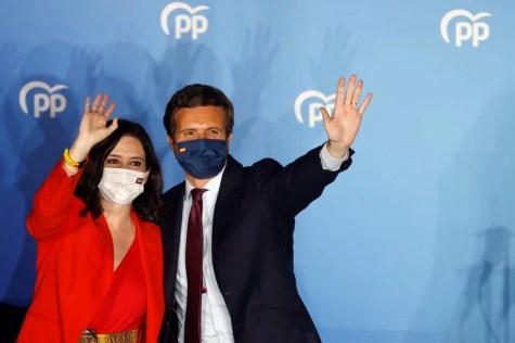 La derecha en Madrid ganó las elecciones y promete mantener la libertad (EFE/Mariscal)