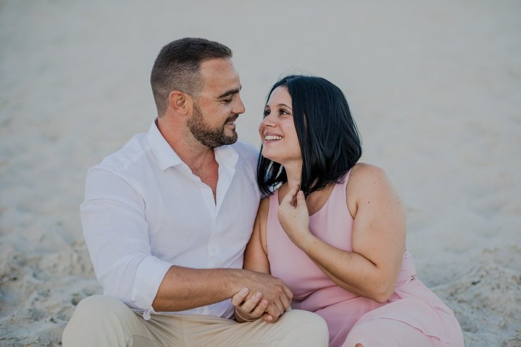 Dolphin Beach Engagement - (17)